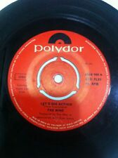 THE WHO when i was a boy/lets see action Orig 1971 RARE SINGLE INDIA INDIAN VG+