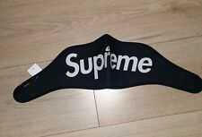 Supreme Black Neoprene Ski Mask