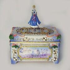 Cinderella Christmas Cloisonne Style  Music Box