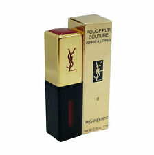 YSL ROUGE PUR COUTURE VERNIS A LEVRES LIP GLOSS  SHADE#10- 6 ML/0.20 OZ. NEW(T)