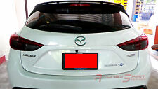 UNIQUE PRECUT SMOKED TAIL LIGHT FILM FOR 14-16 MAZDA3 BM SKYACTIV MAZDASPEED JDM