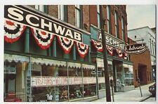 MEMPHIS TN old A. Schwab Department Store General Store postcard