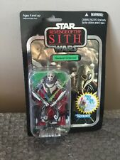 Star Wars Vintage Collection VC17 General Grievous Foil Card Revenge of the Sith