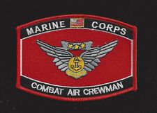 COMBAT AIRCREW WING HAT PATCH USS MARINES VETERAN GIFT AIRCREWMAN USS MCAS WOW