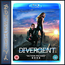 DIVERGENT - Kate Winslet  ***BRAND NEW BLU-RAY  **