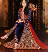 Indian Bollywood Ethnic Designer Anarkali Salwar Kameez Suit & Traditional H LM