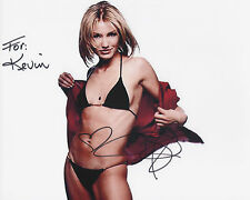 CAMERON DIAZ Signed 10x8 Photo THERES SOMETHING ABOUT MARY COA
