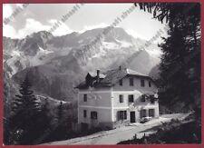 TRENTO PASSO DEL TONALE 28 LOCANDA TONALE Cartolina viaggiata 1961 REAL PHOTO