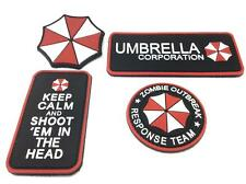 Resident Evil Umbrella PVC Airsoft Patch SET