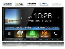 "Kenwood DDX9903S 7"" CarPlay+Android  2-DIN Bluetooth DVD Receiver HD Radio RB"