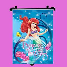 Disney Ariel Car Window Roller Blind Sun Shade Children Kids Baby Boy Girl 1pc