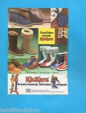 TOP978-PUBBLICITA'/ADVERTISING-1978- SIC MILANO - SCARPE KICKERS