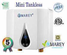 Best 110 V Electric Tankless Marey ECO035 POU Water Heater 2.5 GPM 3.5kW