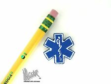 ill Gear STAR OF LIFE MEDIC MEDICAL PARAMEDIC PATCH for EMT SMALL HOOK & LOOP