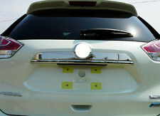 For Nissan X-Trail Rogue 2014 2015+ Stainless Steel Rear Trunk Lid Cover Trim