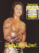 WWE WWF JUVENTUD GUERRERA AUTOGRAPHED HAND SIGNED 8X10 PHOTO WRESTLING PICTURE