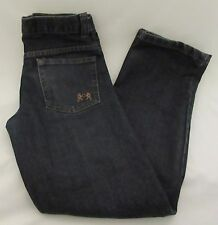 English Laundry Dark Blue Denim Straight Leg Jeans Boys Youth Size 12 Casual