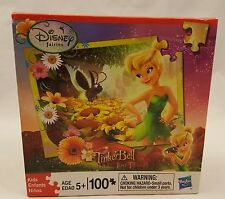 New & Sealed 2009 Disney Tinkerbell Lost Treasure 100 Piece Puzzle Hasbro 10X13