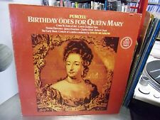David Munrow Birthday Odes For [Purcell] vinyl LP 1976 Angel Records EX QUAD