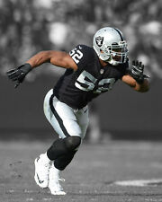 Oakland Raiders KHALIL MACK Glossy 8x10 Photo Spotlight Print Poster