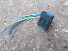 PEUGEOT 307 HATCH BACK MODEL 2005 - 2008 PLUG & WIRES FOR REAR LIGHT BULB HOLDER