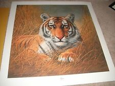 Charles Frace, TIGER Signed Print, 1973~~Rare~~Original Envelope & Papers