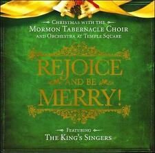 Christmas with the Mormon Tabernacle Choir Rejoice and Be Merry
