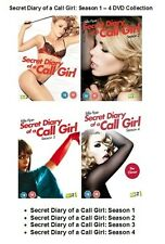 SECRET DIARY OF A CALL GIRL COMPLETE SERIES 1 2 3 4 Set DVD All Episodes Sealed