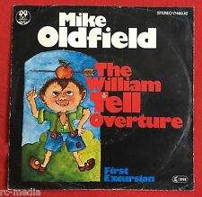 "MIKE OLDFIELD -William Tell Overture- Rare German 7"" with unique Picture Sleeve"