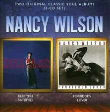 Keep You Satisfied/Forbidden Lover by Nancy Wilson (CD, Nov-2012, 2 Discs,...
