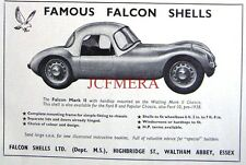 1958 Ford 8-10 Falcon 'Mark II Shell' Kit Car Advert - Auto Photo Print Ad