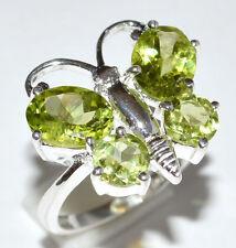 Peridot 925 Sterling Silver Ring Jewelry s.5.5 JJ2295
