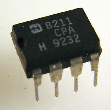 Harris ICL 8211 CPA Programmable Voltage Detector IC 8 Pin DIL