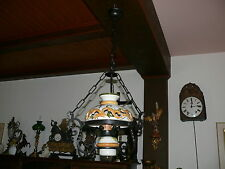 Petroleumlampen Stil   Lampe Deckenlampe elektrisch im Landhausstil ca. 50 Jahre