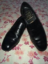 CHURCH'S  LISBON CUSTOM GRADE BLACK LEATHER OXFORD UK 7.5, Vgc