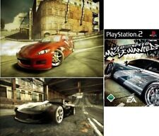 PlayStation 2 Need For Speed Most Wanted alemán utilizada