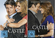 Castle - Die komplette 5. + 6. Staffel (Nathan Fillion)              | DVD | 255