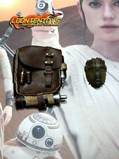 Hot Toys 1/6 MMS337 – Star Wars The Force Awakens Rey backpack with accessories