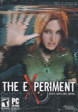THE EXPERIMENT Adventure Mystery PC Game XP & Vista NEW