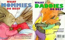 What Mommies/Daddies Do Best, New PB, Laura Numeroff, Mother's Father's Day Gift