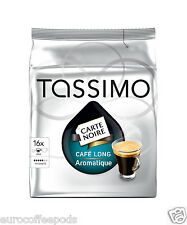 Tassimo Carte Noire Cafe Long Aromatique Coffee 16 T disc Serving Formally Kenya