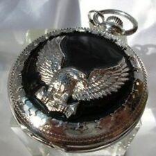 Antico orologio da tasca catenella attacco cintura carica manuale pocket watch
