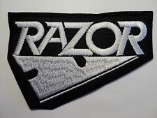 RAZOR  EMBROIDERED  PATCH