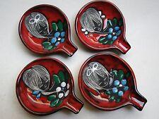 San Marino Ceramiche Titano Fantoni retro style 4 x Aschenbecher Ascher Mädchen