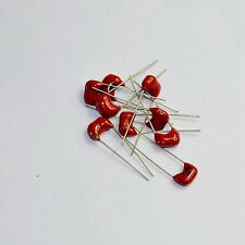 5pcs Silver film MICA Capacitor 680pF 500V for hifi audio amps guitar amp tone