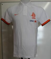 HOLLAND 2012/13 WHITE POLO SHIRT BY NIKE ADULTS SIZE MEDIUM BRAND NEW WITH TAGS