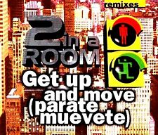 CDM - 2 In A Room - Get Up And Move  (HOUSE) NUEVO MINT