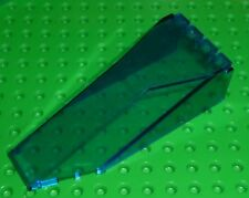 LEGO - Windscreen 10 x 4 x 2 1/3 Canopy - TRANS DARK BLUE (2507) R29