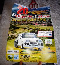 Affiche Rallye de Mato ur 2014 Renault 5 Turbo