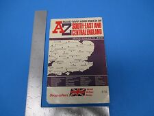 International Travel Brochure A Road Map Index Of S/E&Central England Vntg. M233